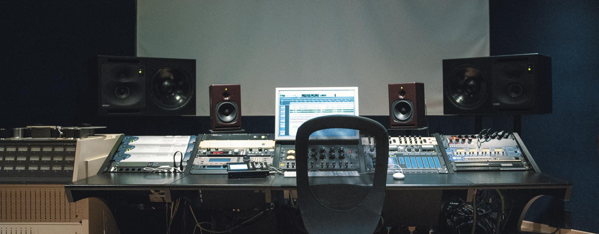 sala mastering y mezcla en valencia